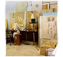 Artists Studio Poster