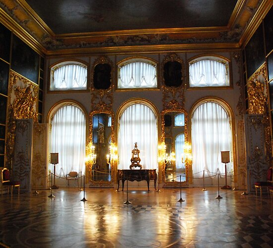 Entertaining room- Catherine's Palace by Jeddaphoto