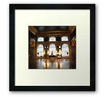 Entertaining room- Catherine's Palace Framed Print
