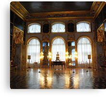 Entertaining room- Catherine's Palace Canvas Print