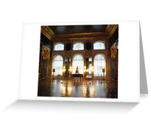 Entertaining room- Catherine's Palace Greeting Card