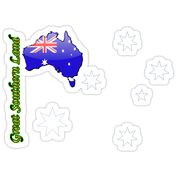 Australia  - Great Southern Land T-Shirt by Craig Stronner