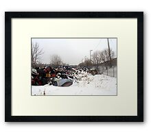 Bumpers Framed Print