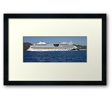 Aida Cruise Ship Framed Print