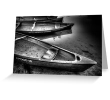 Really? Canoes Again? Greeting Card