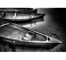 Really? Canoes Again? Photographic Print