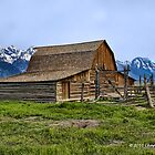 MORMON ROW BARN by Charlene Aycock IPA