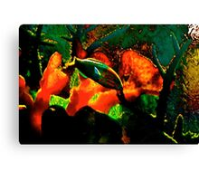 Floating In the conquest of Inner space and Time Canvas Print