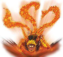 Naruto - Naruto Kyubi by Neiqo
