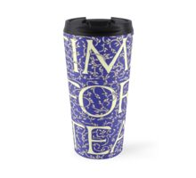 Time For Tea (Royal Blue) Travel Mug