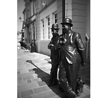 Kings of Comedy. Ulverston, Cumbria, England. Photographic Print