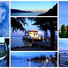 """Lake Garda Impressions featured in """"Colour me a rainbow - Blue"""" by ©The Creative  Minds"""