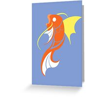 Splashing Grace - Magikarp  Greeting Card