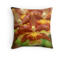 ~orchids~ Throw Pillow