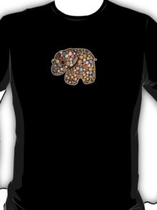 Patchwork Elephant T-Shirt