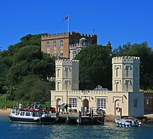 Brownsea Castle by RedHillDigital