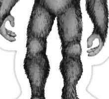 Bigfoot Hide Seek Champion Sticker
