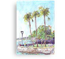 Beare Park Picnic Canvas Print