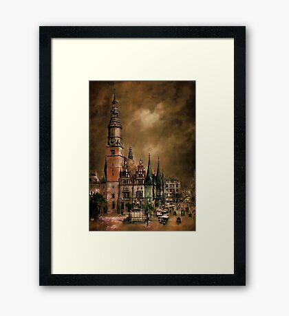 Wrocław(WRATISLAVIE)....1905 y Framed Print