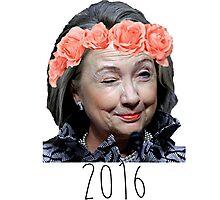 Ya Gurl Hillary 2016 Photographic Print