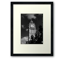The Lord Ben Framed Print