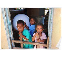 Fijian Children  Poster