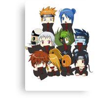 Naruto - Akatsuki Canvas Print
