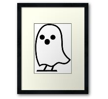 Ghost Writer [Black] Framed Print