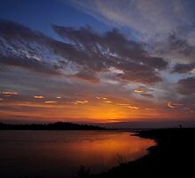 Sunrise over the Estuary by Finbarr Reilly