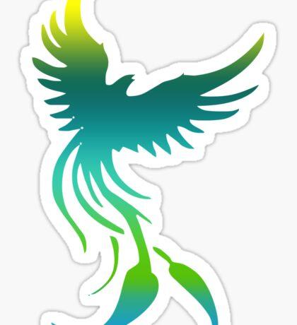 Colorful Phoenix Sticker