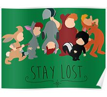-Lost Boys Stay Lost Poster