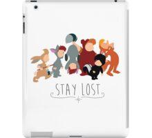 -Lost Boys Stay Lost iPad Case/Skin