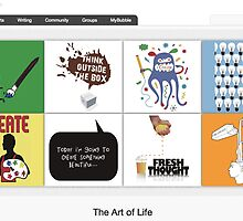 CreativiTEES - 5 September 2010 by The RedBubble Homepage