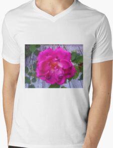 Old Rose Mens V-Neck T-Shirt