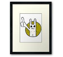 Rabbit ! Framed Print
