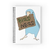 Bird Nerd Spiral Notebook