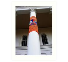 Cosy Columns 14 Art Print