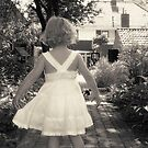 My daughter in the backyard by 3000xxl