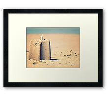 Thinks about moving to someplace else where everything is different enough to be fun again... Framed Print