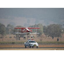 """Pull Over Sir"" @ Mudgee Air Show 2007 Photographic Print"