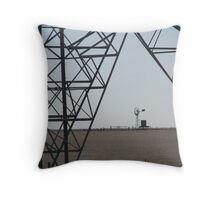Power and Power Throw Pillow