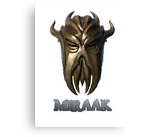 Miraak - Dragonborn/Dragonpriest Canvas Print