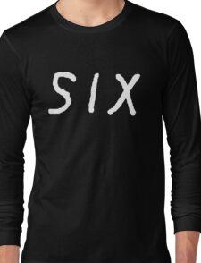 SIX [White] Long Sleeve T-Shirt