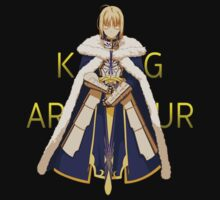 fate zero saber king arthur anime manga shirt by ToDum2Lov3