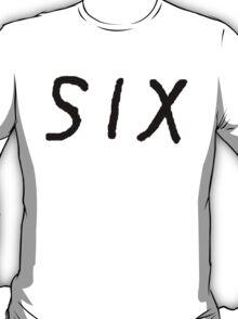 SIX [Black] T-Shirt