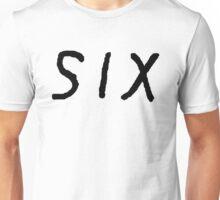 SIX [Black] Unisex T-Shirt