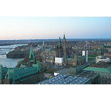 Ottawa Skyline Photographic Print