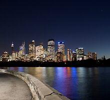 Sydney City by Stephane Milbank