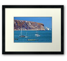Swanage View Framed Print