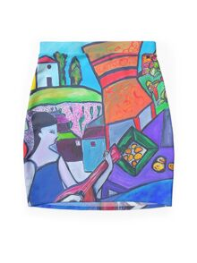 At The Villa Mini Skirt